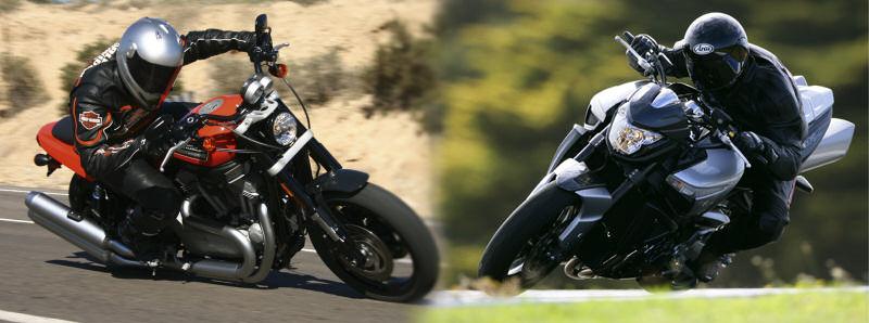 Harley-Davidson XR 1200 Sportster 2010 / Suzuki B-KING 1300 2010