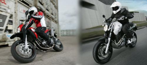 Yamaha XT 660 X 2006 / Yamaha MT-03 2006