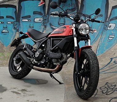 Ducati SCRAMBLER 400 Sixty2 2016