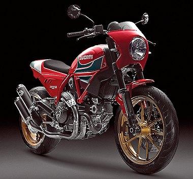 Ducati SCRAMBLER 800 Hailwood 2016