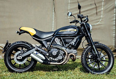 Ducati SCRAMBLER 800 Full Throttle evo