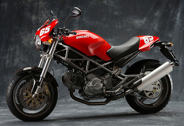 miniature Ducati 620 MONSTER S CAPIREX 2004 - 2