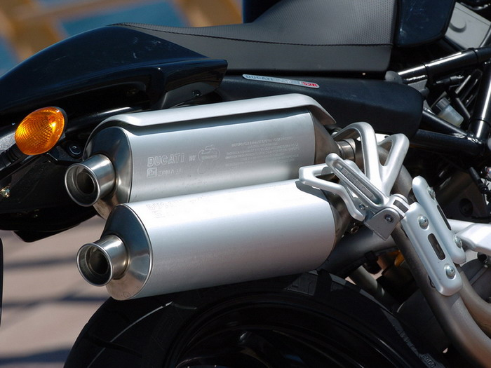 Ducati 800 MONSTER S2R 2007 - 13