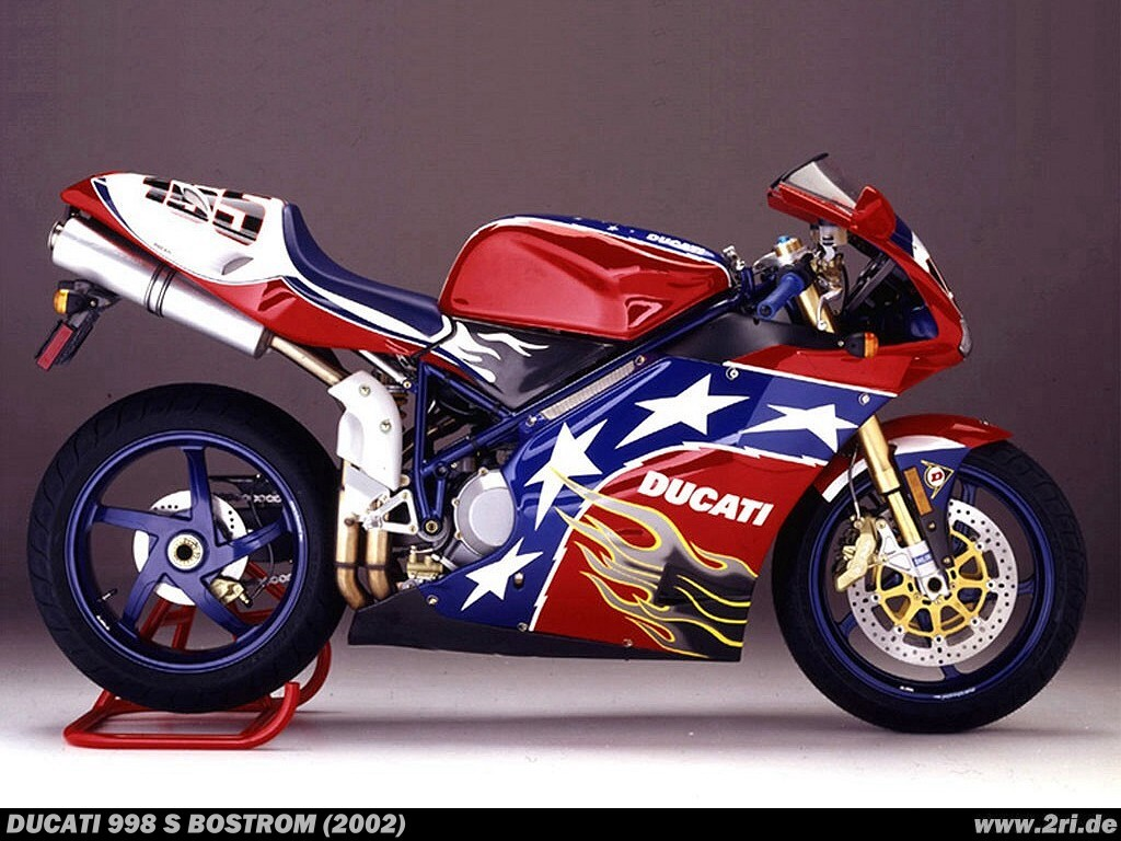 Ducati 998 S Ben Bostrom Replica 2002 - Galerie moto ...