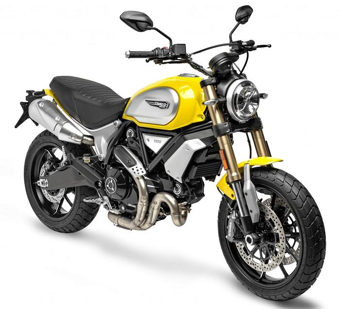 ducati 1100 scrambler 2018 fiche moto motoplanete. Black Bedroom Furniture Sets. Home Design Ideas