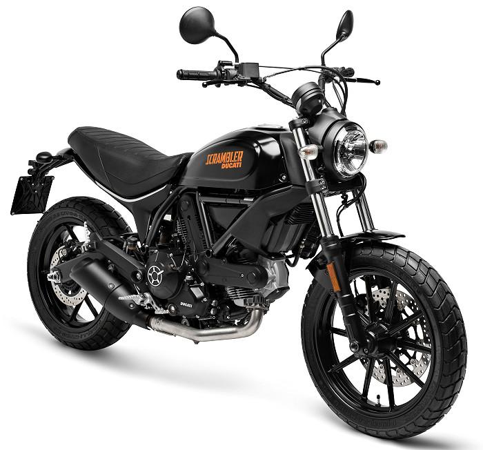 ducati scrambler 400 hashtag 2018 fiche moto motoplanete. Black Bedroom Furniture Sets. Home Design Ideas