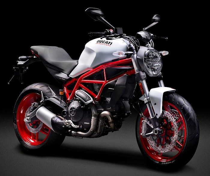 ducati 797 monster 2017 fiche moto motoplanete. Black Bedroom Furniture Sets. Home Design Ideas