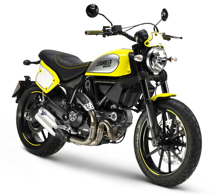 ducati scrambler 800 flat track pro 2016 fiche moto. Black Bedroom Furniture Sets. Home Design Ideas