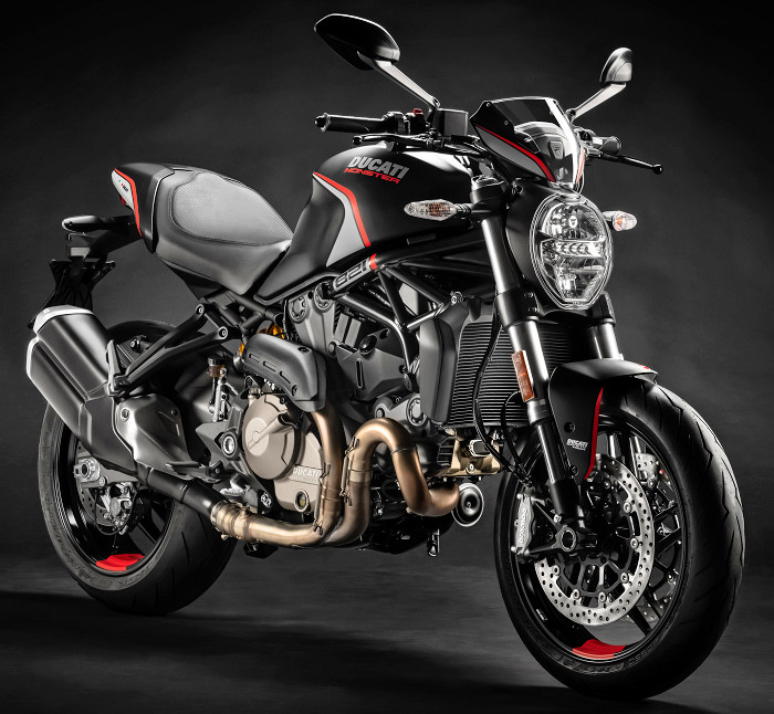 Ducati 821 Monster Stealth