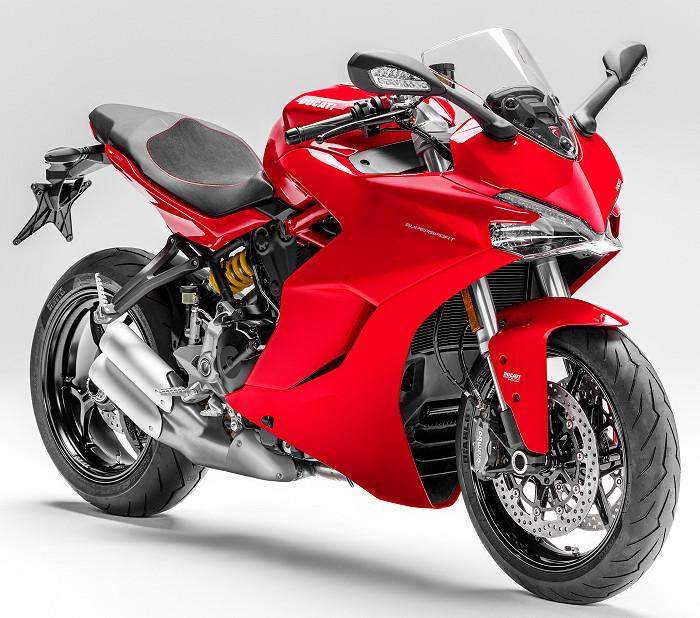 Ducati Supersport 2018 Fiche Moto Motoplanete
