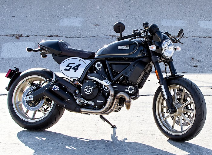 ducati scrambler 800 cafe racer 2017 fiche moto motoplanete. Black Bedroom Furniture Sets. Home Design Ideas