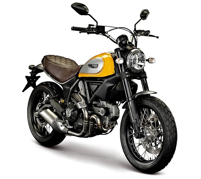 Ducati Scrambler Yellow