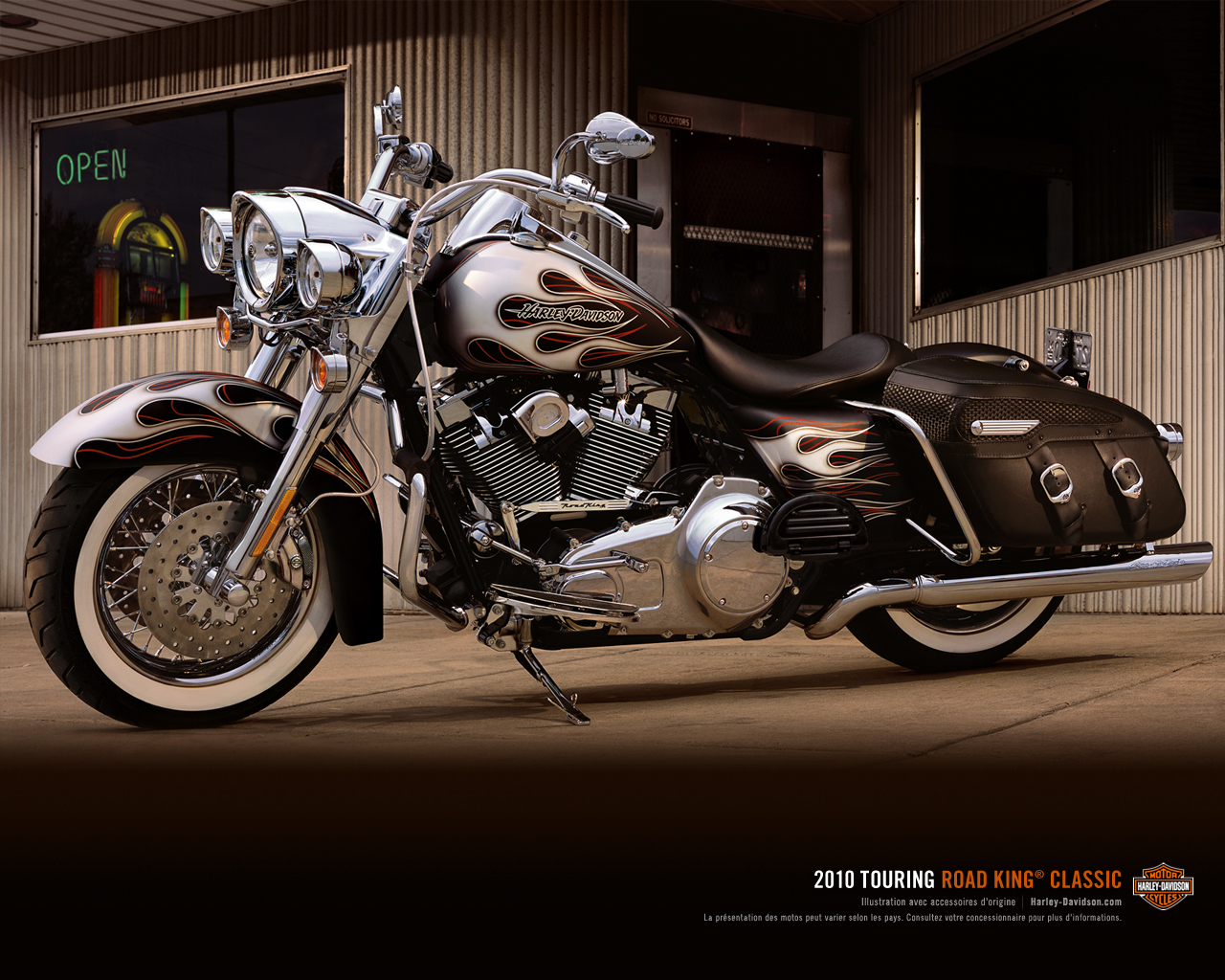 road king classic touring galeries photos motoplanete. Black Bedroom Furniture Sets. Home Design Ideas