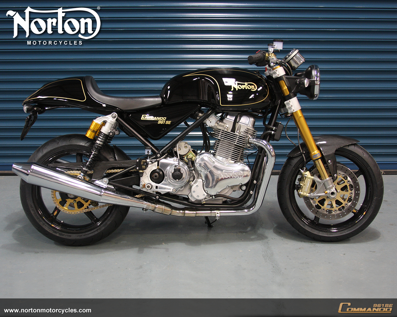 961 commando cafe racer norton galeries photos motoplanete. Black Bedroom Furniture Sets. Home Design Ideas
