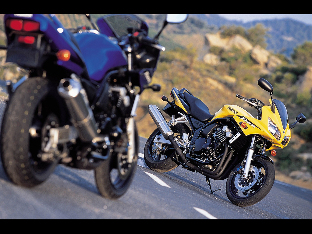 FZS 600 Fazer - ROADSTERS et NAKED - Galeries photos