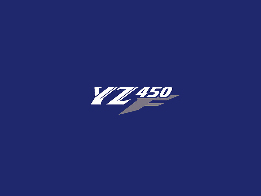 Yz F Logo on Honda Rebel 450