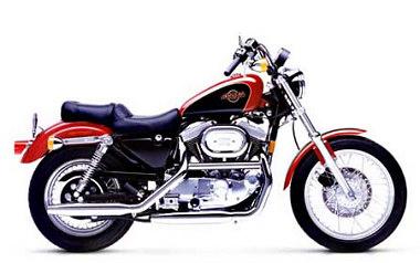 harley davidson xlh sportster 1200 1998 fiche moto motoplanete. Black Bedroom Furniture Sets. Home Design Ideas