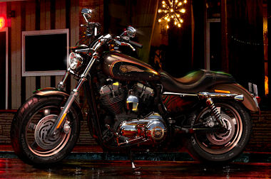 XL Sportster 1200 Custom 110th Anniversary  2013