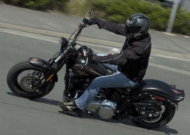 Harley-Davidson FLSTSB 1584 SOFTAIL CROSS BONES