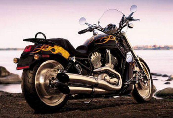 Harley-Davidson 1131 V-ROD Black VRSCB 2005 - 7
