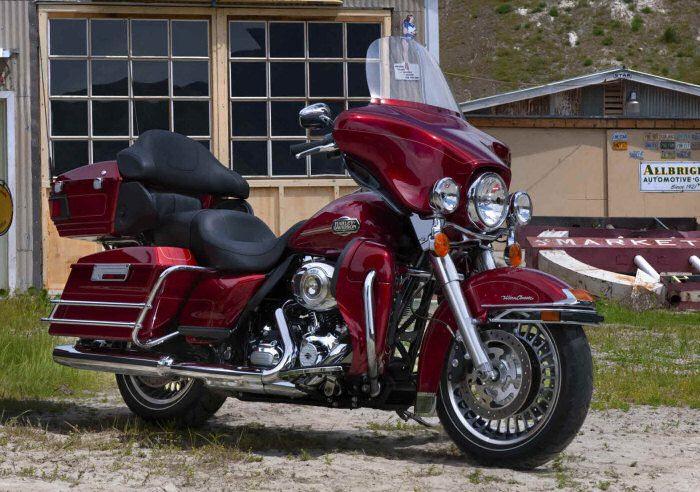 Harley-Davidson 1690 ELECTRA GLIDE ULTRA CLASSIC FLHTCUI 2012 - 5