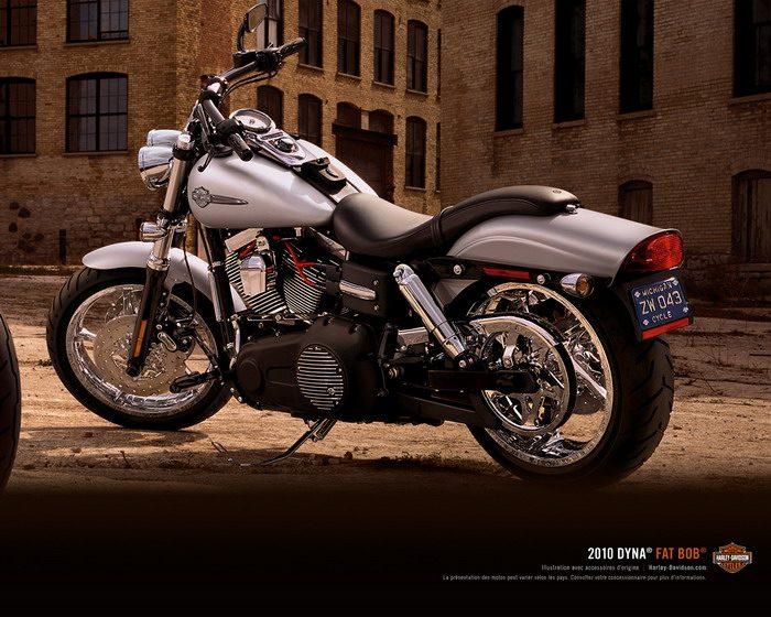 harley davidson 1584 dyna fat bob fxdf 2010 galerie moto motoplanete. Black Bedroom Furniture Sets. Home Design Ideas