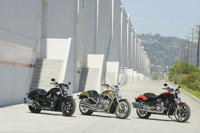 Harley-Davidson 1130 STREET-ROD VRSCR 2005 - 3