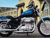 moto Harley-Davidson XL 883 L Sportster Low 2008