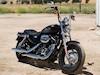 moto Harley-Davidson XL Sportster 1200 Custom CB 2015