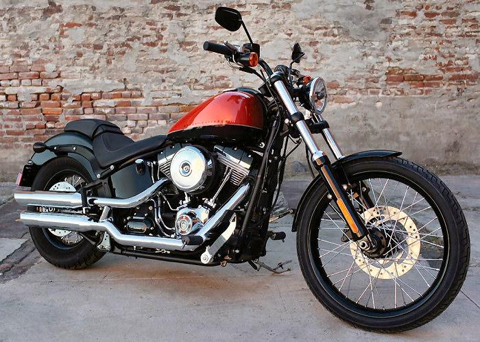 Harley-Davidson 1584 SOFTAIL BLACKLINE FXS