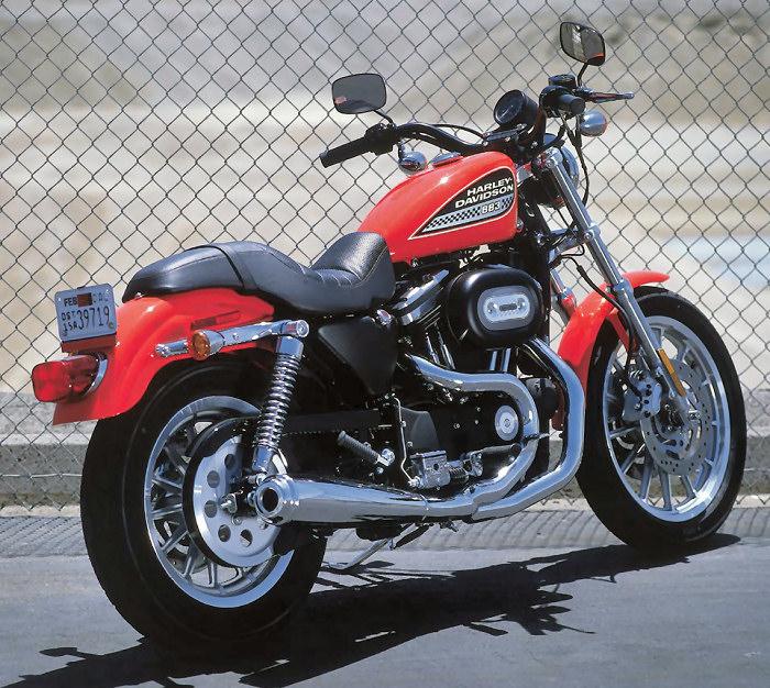 harley davidson xl 883 r sportster 2002 fiche moto motoplanete. Black Bedroom Furniture Sets. Home Design Ideas