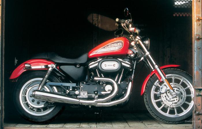 harley davidson xl 883 r sportster 2003 fiche moto motoplanete. Black Bedroom Furniture Sets. Home Design Ideas
