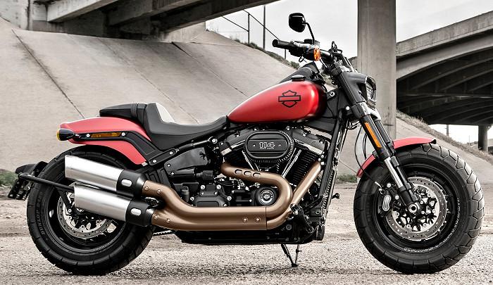 Harley-Davidson 1870 SOFTAIL FAT BOB FXFBS 2019 - Fiche ...