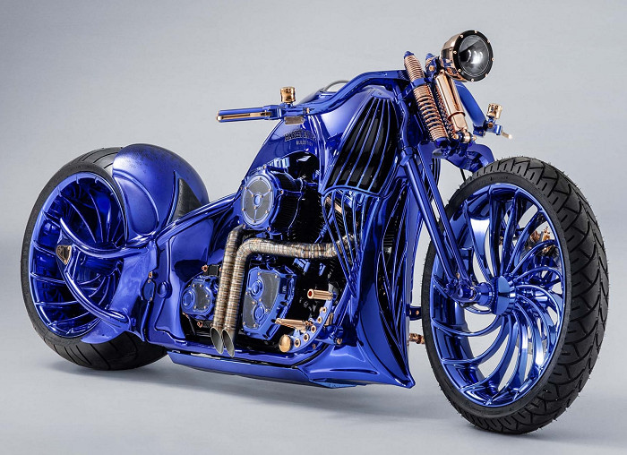Harley-Davidson 1800 BLUE EDITION SOFTAIL SLIM S FLSS