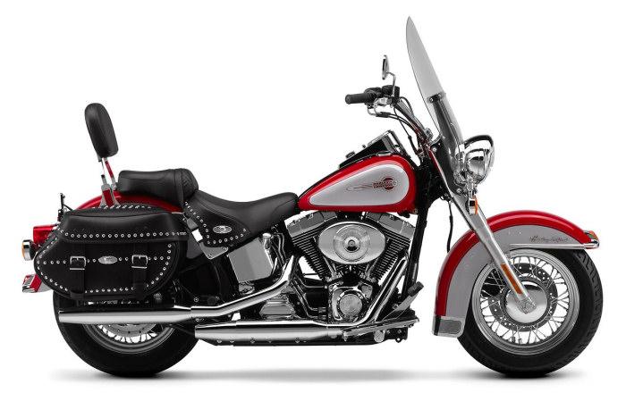 harley davidson 1450 softail heritage classic flstc 2002 fiche moto motoplanete. Black Bedroom Furniture Sets. Home Design Ideas