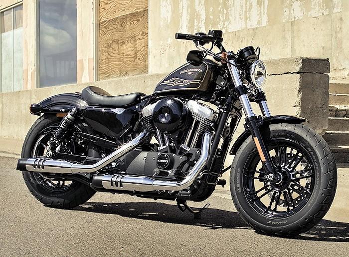 harley-davidson xl 1200 x sportster forty eight 2017 - fiche moto