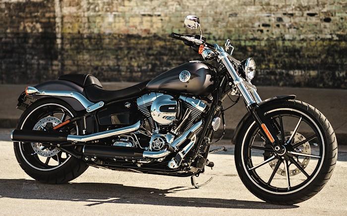 Harley davidson 1690 softail breakout fxsb 2017 fiche moto motoplanete