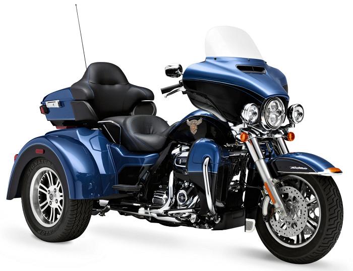 2018 Tri Glide Ultra Harley Davidson: Harley-Davidson 1745 TRI GLIDE ULTRA 115eme Anniversaire