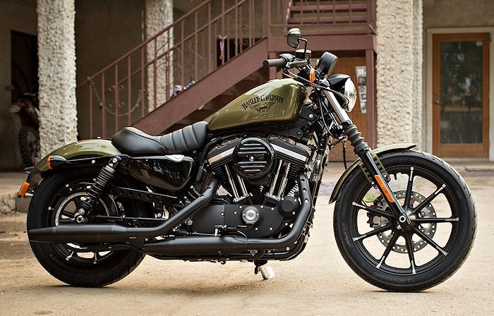 harley davidson xl 883 sportster iron 2017 fiche moto motoplanete. Black Bedroom Furniture Sets. Home Design Ideas
