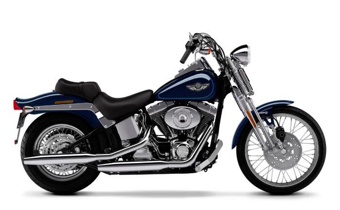 harley davidson 1450 softail springer fxsts 2000 fiche moto motoplanete. Black Bedroom Furniture Sets. Home Design Ideas
