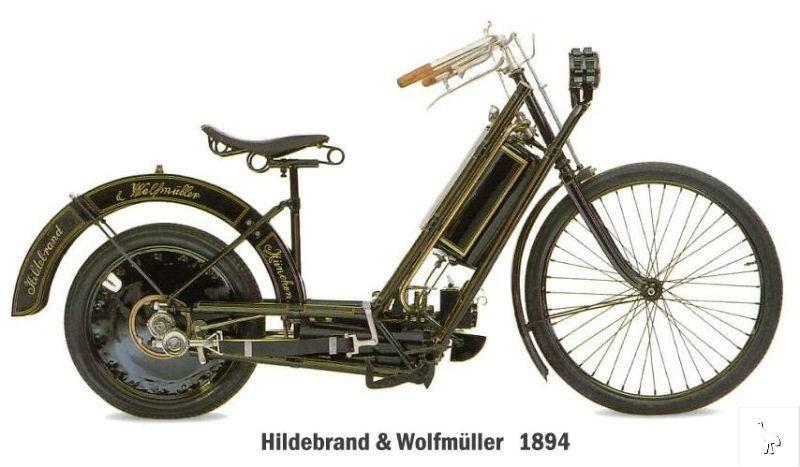 Hildebrand & Wolfmüller 1488 1901 - 8