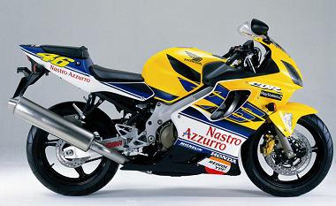 Honda CBR 600 FS Rossi Replica
