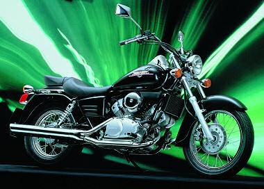 Honda 125 Shadow VT
