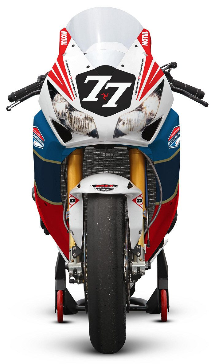 Honda CBR 1000 RR Endurance TT Legends 2012 - 5