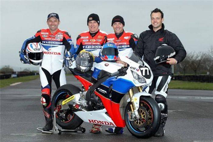 Honda CBR 1000 RR Endurance TT Legends 2011 - 1