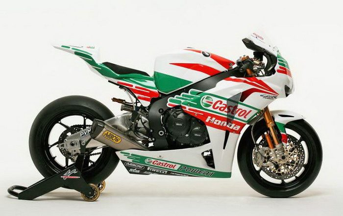 Honda CBR 1000 RR Factory TEN KATE SUPERBIKE 2011 - 8