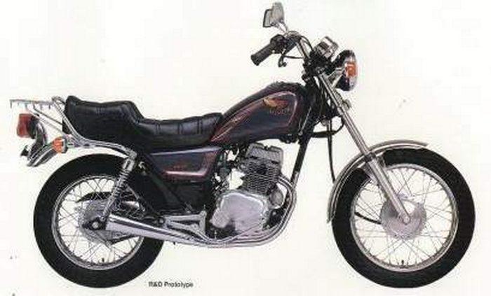 Honda 125 CM 1992 - 3