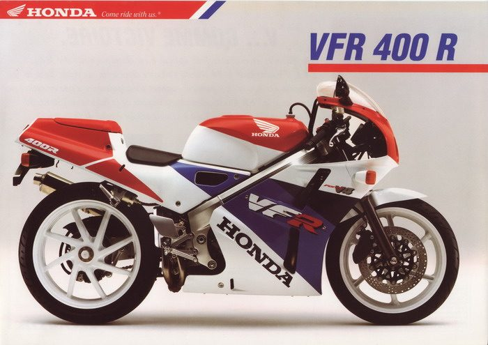 Honda NC 30 - VFR 400 R 1993 - 6