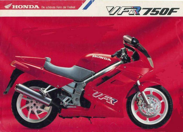 Honda VFR 750 F Carat 1992 - 5
