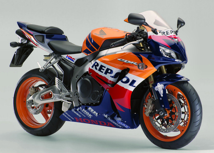 honda cbr 1000 rr fireblade repsol replica 2007 fiche moto motoplanete. Black Bedroom Furniture Sets. Home Design Ideas